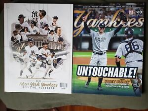 YANKEES MAGAZINE 2021 COREY KLUBER UNTOUCHABLE NO HITTER  AND 2021 YEARBOOK