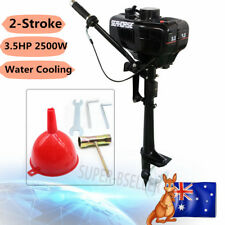 3.5HP Outboard Motor Engine 2-Stroke Water Cooling System Fishing Boat 2.5kw AU