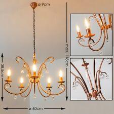 Kronleuchter Wohn Zimmer Hängelampe Kupfer Farbe Esszimmer Lampen Leuchten Krone