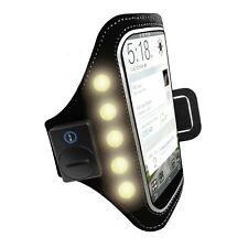 LED Sports Arm Band Trands Mobile Armband for Running Jogging Exercise Sport