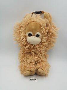 "Baby Coco & Natsu B3007 Orangutan Nakajima 2008 Zipper Bag Plush 7"" Toy Doll"