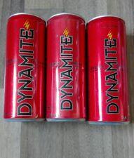 3 Energy Drink Dosen Sammlung Leere Cans Dynamite Set 250ml Empty Selten