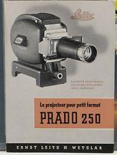 LEITZ Le PRADO 250 le projecteur pour petit format