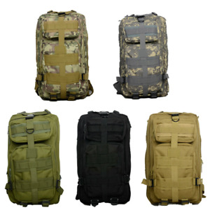 Military Camping Backpack Tactical Molle Travel Bag Outdoor Camping Hiking Men