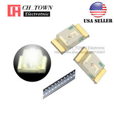 100PCS 1206 (3216) White Light SMD SMT LED Diodes Emitting Ultra Bright USA