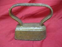 Primitive Antique Rustic Smoothing Sad Iron #52