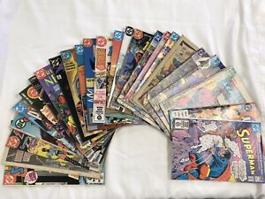 DC Comics Lot Of 30 Bronze Age- 1970s- Teen Titans,Batman, Superman,JLA- No Res!