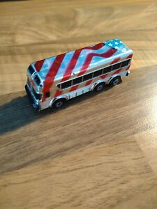 Rare Micro Machine American Bus Chrome Excellent Condition