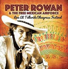 PETER ROWAN FREE MEXICAN AIRFORCE – LIVE AT BLUEGRASS FESTIVAL(NEW/SEALED) CD