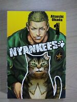 Nyankees 1, Shonen Manga, English, 13+, Atsushi Okada