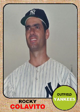 ROCKY COLAVITO 68 YANKEES ACEO ART CARD ## BUY 5 GET 1 FREE ## or 30% OFF 12