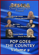 Pop Goes The Country Volume 9 (DVD) George Jones, Mel Tillis, Charlie Rich, More