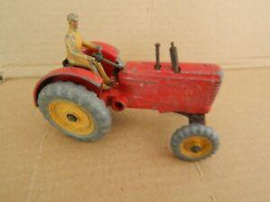 Vintage Dinky Diecast Massey Harris Tractor