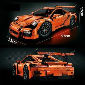 Custom PORSCHE 911 GT3 RS Compatible with Lego Technic 42056 42115 42083 NO BOX