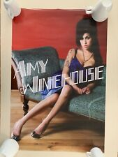 AMY WINEHOUSE,RARE AUTHENTIC 2007 LICENSED POSTER