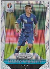 MARCO VERRATTI 2016 Panini Prizm UEFA Euro Soccer Flash Prizm #91 Italy