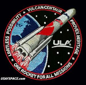 Authentic VULCAN CENTAUR - ULA - United Launch Alliance - NASA USSF Launch PATCH