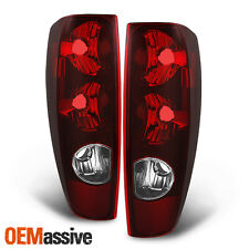 Fit Chevy Colorado/GMC Canyon/Isuzu Pickup OE Replacement Red Tail Lights L+R