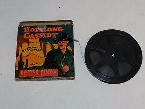 Rare Vintage Castle Films 8 mm Hopalong Cassidy Doomed Wagon Train