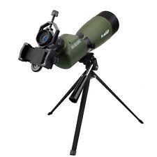 Telescope 20x-60X Waterproof 45-Degree Angled Zoom Spotting Scope+ Phone Adapter
