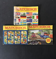 Vintage Lesney Matchbox Catalog / Catalogue 1967- 1968 - 1969 (2nd Ed)