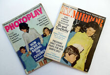 JACKIE ONASSIS Lot Of 2 Magazines POST- KENNEDY DEATH 1966 1967 PHOTOS Articles