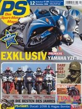 PS0612 + YAMAHA YZF-R1 + Vergleich Serie/Umbauten DUCATI Sport 1000 + PS 12/2006