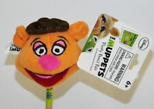 "Muppets Fozzie Bear Plush 2"" Pencil Topper NWT Disney Plushy Pencil Pals"