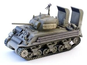 CORGI Sherman M4A3 US Normandy France D-Day 1/50 DIECAST MODEL FINISHED TANK