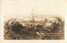 East Moline Illinois real photo postcard Union Malleable Iron Co.