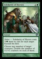 1x SOLIDARITY OF HEROES - Commander - MTG - Magic the Gathering - NM