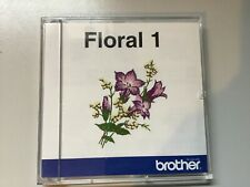 BROTHER EMBROIDERY MACHINE DISC/ FLORAL 1