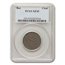 (Circa 1785) USA Bar Cent XF-45 PCGS (Brown) - SKU #117912