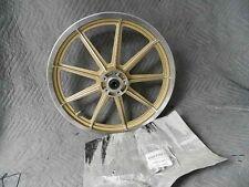 NEW HARLEY 9-SPOKE GOLD CAST 19X2.15 FRONT WHEEL DYNA SPORTSTER 41036-88