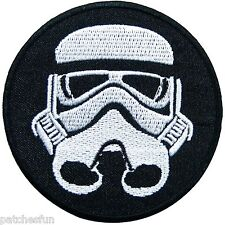 Imperial Storm Trooper Star Wars Episode Movies Classic Sew Iron on Patch #0808