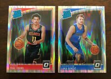 2018-19 Donruss Optic Basketball - Base Stars Shock Prizm RCs! Pick Your Card!