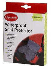 Clippasafe WATERPROOF SEAT PROTECTOR Baby Toddler Car Organisation Travel BNIB