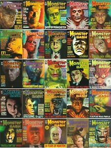 MONSTER BASH MAGAZINE #1 - #41 & SPECIALS - YOU PICK ISSUES - NEW UNREAD COPIES