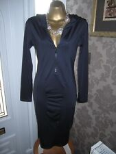 ZARA TRF SPORTS WEAR NAVY BLUE DRESS SIZE MEDIUM
