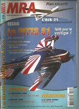 MRA N°775 LAN : L'ASK 21 / LE PITTS S1 / LE SONIC LINER / L'EASY FLY / HAWK 1400