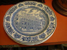 1931 Yale - Wedgewood Collector Plate Connecticut Hall 1752