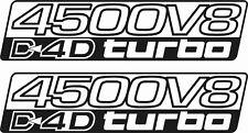 Toyota Prado Land Cruiser 200 4500 V8 D4D Turbo Reemplazo Calcomanías Pegatinas
