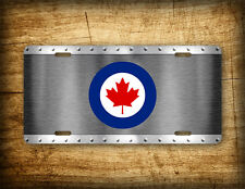 Canadian Air Force License Plate Canada Roundel Canada CA CAF Auto Tag GIFT!!