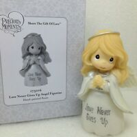 Precious Moments Love Never Gives Up Praying Angel 2017 Figurine 173016 New
