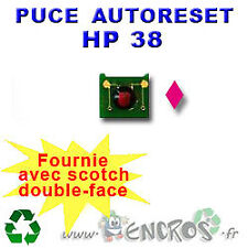 RECHARGEABLE Puce Auto-Reset Magenta HP 38