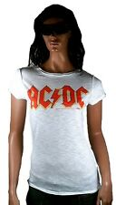 Amplified Official AC/DC ACDC Rock Star Vintage Designer VIP WOW T-shirt G.M
