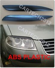 VW Passat B5 FL 3BG 00-05 Eyebrows, ABS PLASTIC, tuning