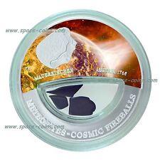 2013 Fiji Meteoriten Münze- Mauerkirchen- 999 Stück! $10 Silber, Cosmic Fireball