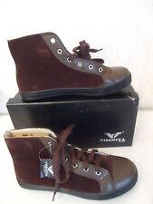 Schuhe Freizeitschuhe Knöchelschuhe Sneaker Boots VISENIYA  Braun Gr.36/37 NEU