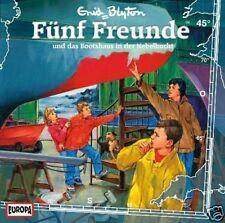 CD fünf Freunde - folge 45 und das Bootshaus In der Nebelbucht